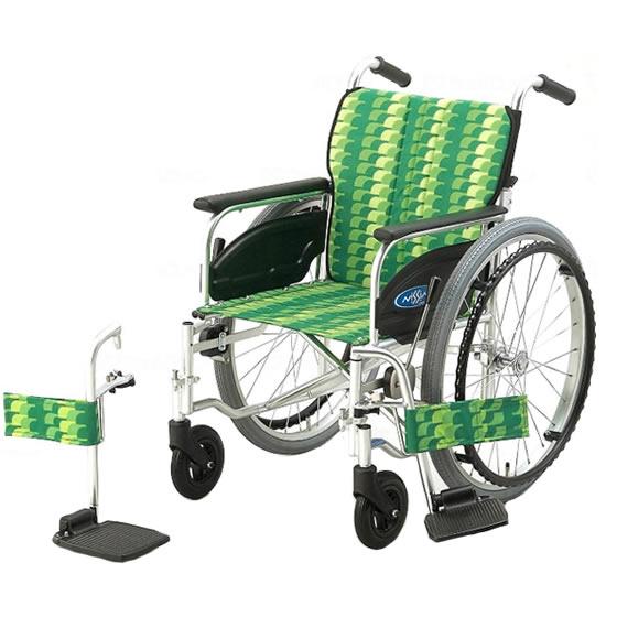 スタンダード 標準 車椅子 NA-400シリーズ FOタイプ NA-406FO 自走用 折りたたみ スイングアウト 送料無料 日進医療器 nissin 22インチ 車イス 車いす くるまいす 折り畳み