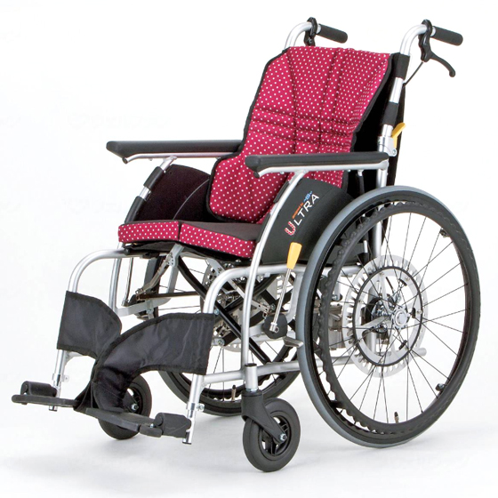 送料無料 日進医療器 自走用 車椅子 NA-U1 G-Guard-2パッケージ | 車いす 車イス くるまいす 自動安全ブレーキ 背折れ 折り畳み 折りたたみ エアタイヤ 介助ブレーキ付き ドラム式ブレーキ アルミフレーム 転倒防止