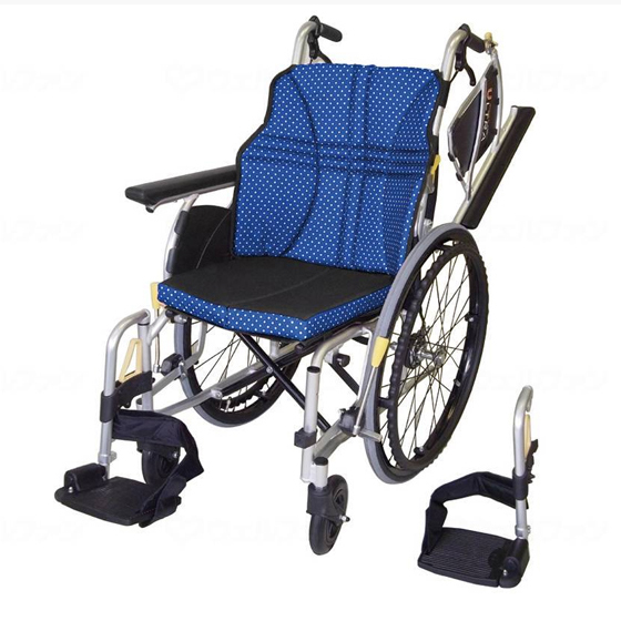 送料無料 日進医療器 自走用 車椅子 ウルトラシリーズ NA-U2W | 車いす 車イス くるまいす 背折れ 折り畳み 折りたたみ エアタイヤ 介助ブレーキ付き ドラム式ブレーキ アルミフレーム JISマーク