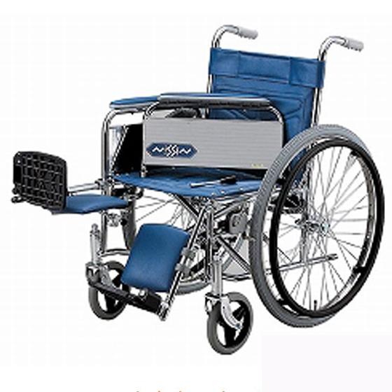 スチール製 自走用 車椅子 ND-14 エレベーティング 着脱式アームサポート 日進医療器 nissin 送料無料 病院 施設 車イス 車いす くるまいす