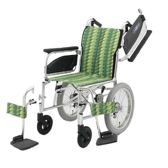 多機能 つかいやすい 車椅子 NA-400シリーズ NAHタイプ NAH-446W 介助用 折りたたみ 肘跳ね上げ スイングアウト 送料無料 日進医療器 nissin 16インチ 車イス 車いす くるまいす 折り畳み