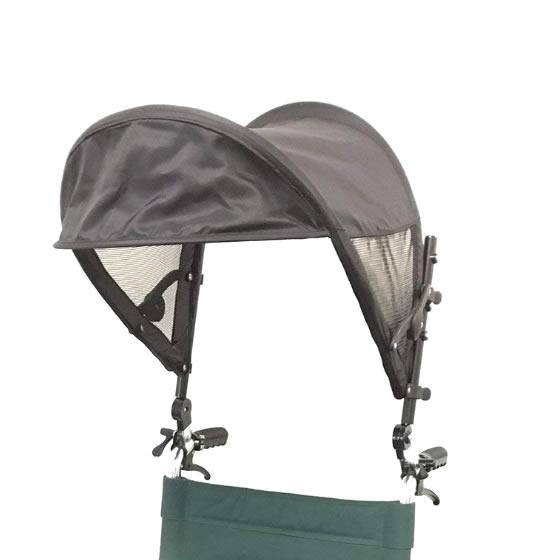 車椅子用日よけ T-シェード | 車いす 日傘 日よけ 片山車椅子 サンシェード 日除け 日差し 紫外線 暑さ対策 取付簡単 UV対策 7月上旬頃入荷予定