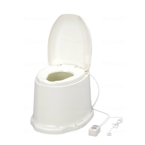 送料無料 アロン化成 腰掛便座 サニタリーエースSD 据置式 暖房便座 ノーマルタイプ 簡易 設置型 洋式トイレ 変換便座 排泄用品 福祉用品 介護 自宅 トイレ