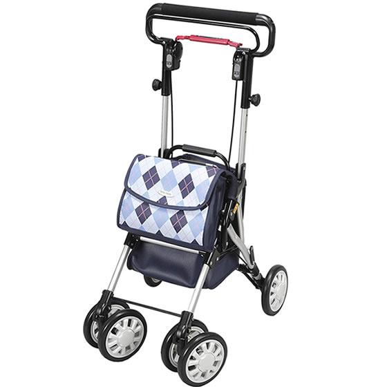 送料無料 ユーバ産業 シルバーカー ウィングライト WL-0248 便利 買物 散歩 お出かけ 座れる 座面 座席 折りたたみ 折り畳 コンパクトタイプ 使いやすい 男性 女性 誕生日 プレゼント