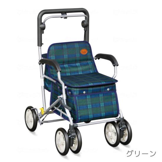 須恵廣工業/ユーメイトFX 623   送料無料 ボックスタイプ シルバーカー 高さ調節 おしゃれ オシャレ 手押し車 押し車 買い物 散歩 収納 バッグ 座席 座れる 車輪が大きい 321120
