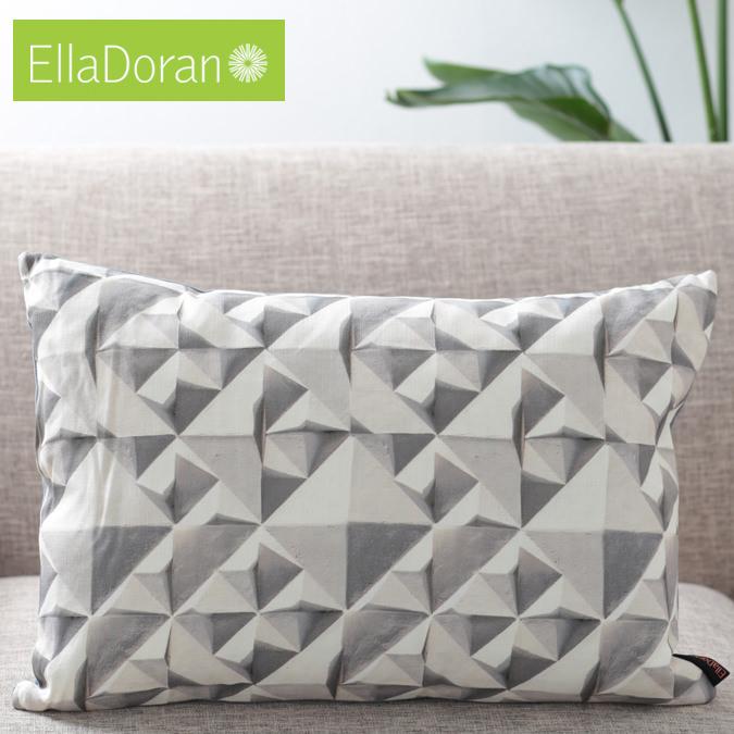 Ella Doran 英国製 クッション 横長 エラドラン UK デザイナー Made in UK Geo 60cm×40cm ジオ ジオメトリック 幾何学模様 イギリス 雑貨 プレゼント ギフト 新生活 新居 引越し祝い 子供