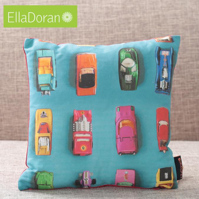 Ella Doran 英国製 クッション エラドラン UK デザイナー Made in UK Gridlock 30cm×30cm グリドロック イギリス 雑貨 プレゼント ギフト 新生活 新居 引越し祝い 子供