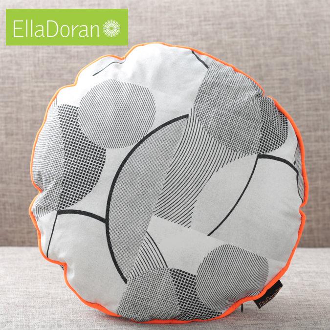 Ella Doran 英国製 クッション 円型 エラドラン UK デザイナー Made in UK Pop Art Circles 43cm×43cm ポップアートサークル サークル イギリス 雑貨 プレゼント ギフト 新生活 新居 引越し祝い 子供