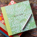 ESMIE エスミー GUEST BOOK ゲストブック ノート メモ帳 英国製 花柄 スタンプ帳 【送料無料】 ロンドン イギリス 英国 esmiegbces 001 002 ギフト