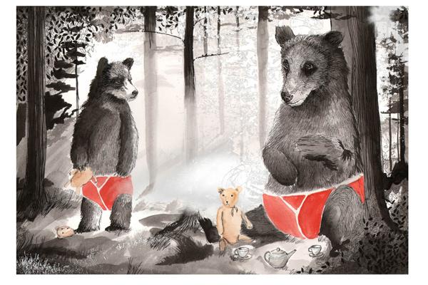 ジムボバート Jimbobart A4 アートプリント Teddy Bear's Picnic 250枚限定 直筆サイン入り 絵画 インテリア おしゃれ 北欧 プレゼント ギフト 新生活 新居 引越し祝い 新築 子供