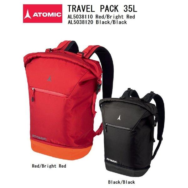 アトミック トラベルバックパック 35L スキーバック ATOMIC リュックタイプ 年中無休 TRAVEL AL5038110 ハイクオリティ AL5038120 PACK