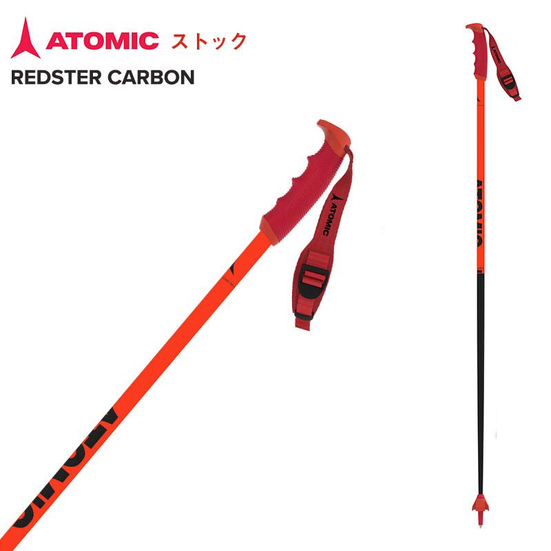 アトミック ストック 110cm 115cm 120cm 125cm 店内限界値引き中 セルフラッピング無料 2021 ATOMIC Red REDSTER CARBON Black 100%品質保証! AJ5005636
