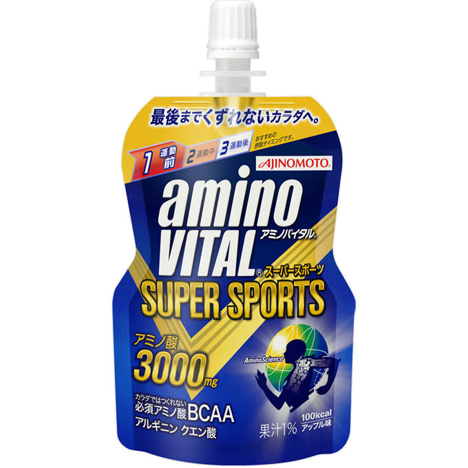 アミノバイタル ゼリードリンク SUPER SPORTS 100g
