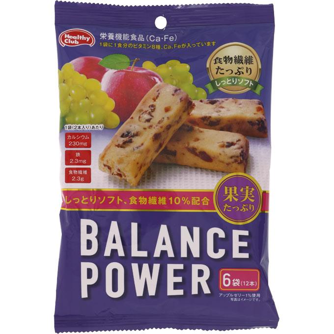 栄養機能食品 Ca Fe 送料無料お手入れ要らず バランスパワー 6袋 着後レビューで 送料無料 ウェルパーク 12本 果実たっぷり