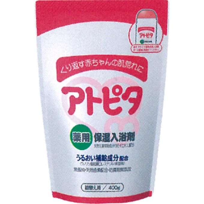 くり返す赤ちゃんの肌荒れに アトピタ 薬用保湿入浴剤 ウェルパーク 激安 激安特価 5%OFF 送料無料 詰替え用 400g