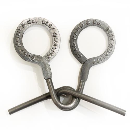 グラッドハンド GLAD 毎週更新 HAND 当店限定販売 14SSG06 puzzle ring 知恵の輪 パズルリング ボックス プレゼントに 巾着袋付き