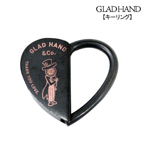 グラッドハンド GLADHAND ハート 回転ロック式 即日出荷 35%OFF 金属 キーリング