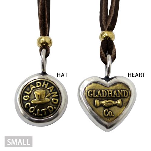 グラッドハンド GLAD HAND BUTTON CHARM 【S】ネックレス ボタンチャーム SMALL ネックレス