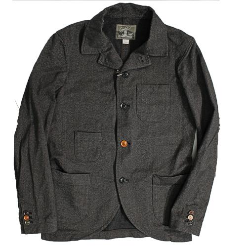 オルゲイユ 激安卸販売新品 ORGUEIL OR-4012 Sack Jacket サックジャケット 再販ご予約限定送料無料 黒 日本製 ダルチザン