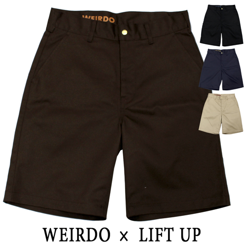 glad hand weirdo LIFT UP ショーツ メンズ W&L_UP 17SS25【16SS27】19SS リフトアップ SHORTS 【送料無料】【4色展開】