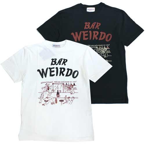 ウィアード 新着 グラッドハンド 新作 大人気 weirdo 20MS02 wrd-20-ms-02 BAR 半袖 4EYES Tシャツ