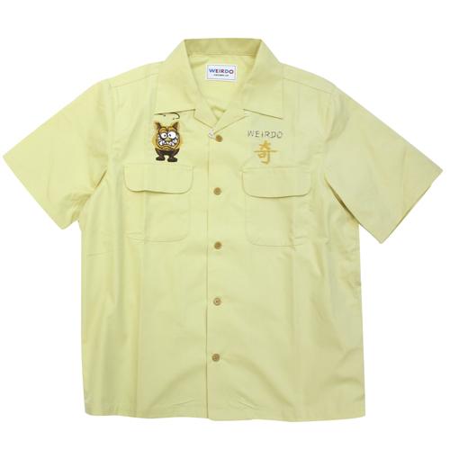 ウィアード glad hand weirdo ワークシャツ weirdoz 半袖 ギフト プレゼント ご褒美 絶品 20SS04 20-SS-04