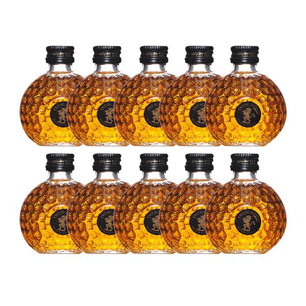 ウイスキー ミニチュア瓶 オールドセントアンドリュースクラブハウス 50ml×10本セット