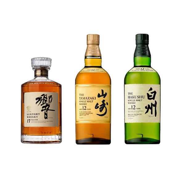ウイスキー ミニチュア瓶Aセット