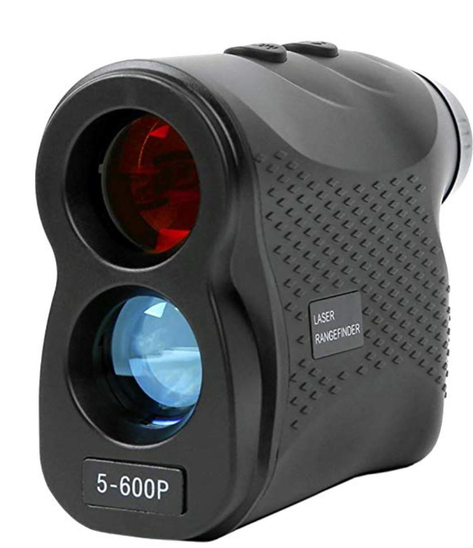 WOSPORTS レンジファインダー 高精度 軽量 携帯型 距離計 ゴルフ 狩猟用 高精度 手軽 600M