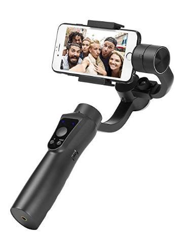 zhiyun  ジンバル スタビライザー3軸ハンドヘルド スマートフォンiPhone Samsung Galaxy Gopro Hero 3/4/5用ジンバル ワイヤレスコントロール垂直撮影パノラマモードスタビライザー