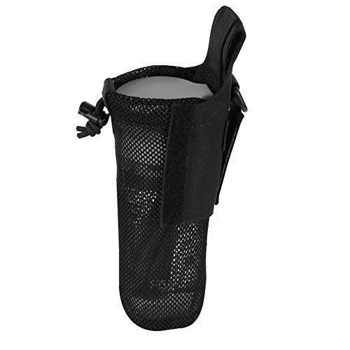 PHOENIX IKKI 750mlペットボトルが収納可能 折りたたみ可能 携帯便利 Molleモール対応 メッシュ加工 戦術 水筒ポーチ ペットボトルホルダー 16色対応