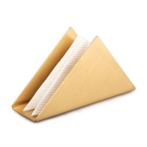 IMEEA ナプキンスタンド ナプキン立て ナプキンボルダー ステンレス製 業務用ナプキンスタンド ゴールド