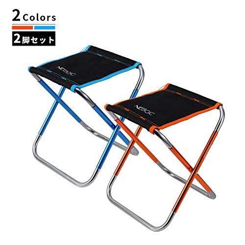 アウトドアチェア キャンプ 折りたたみ椅子 イス 軽量 コンパクト おりたたみいす【耐荷重100kg】折り畳み椅子 アルミ合金ローチェア 持ち運び 超軽量収納袋付き