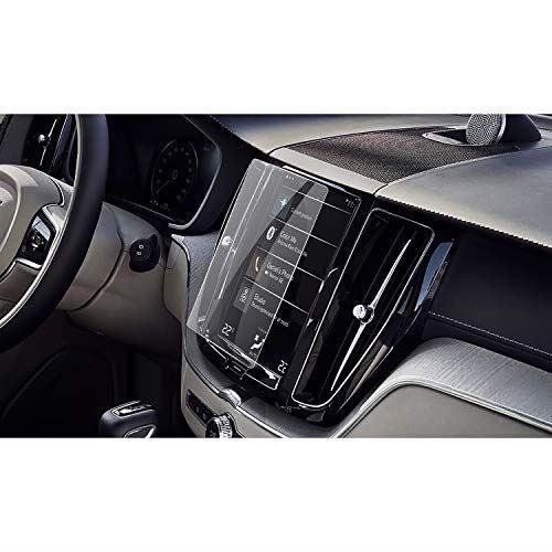 【RUIYA 強化ガラス製】 ボルボ Volvo XC60 8.7インチ ナビゲーション専用ガラスフィルム 液晶保護フィルム 保護シート 硬度9H キズ防止 汚れ防止 高透明 目にやさしい