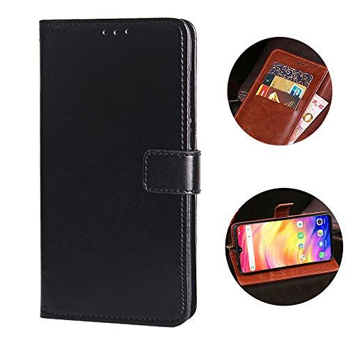 Ulefone Note 7 ケース 手帳型 財布型 Sooyeeh カード収納 マグネット式ボタン 割引も実施中 8色可選 ビジネス風 ブラック 超薄型 耐衝撃 全面保護 指紋認証よし 送料込 高級PUレザー 軽量 スタンド機能付き