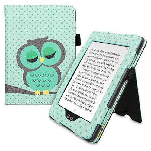 kwmobile Amazon Kindle Paperwhite (10. Gen - 2018) 用 ケース - 電子書籍カバー PUレザー - オートスリープ reader プロテクション