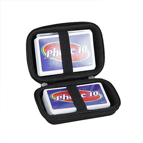 Mattel Phase 送料無料でお届けします 出荷 10 ブラック トランプを除く Kartenspiel専用収納ケース-Adada