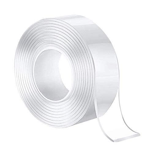 両面テープ 超強力粘着 魔法テープ 多機能テープ 情熱セール 透明 ナノテクノロジー両面テープ 洗濯可能 で繰り返し利用可能 滑り止めテープ 会社 学校 工業用など 3Mx5CMx2MM 耐熱 オフィス 家庭 寮 贈答