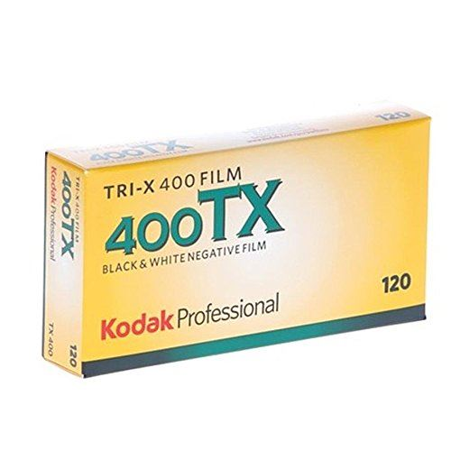 KODAK プロフェッショナル用 白黒フィルム トライ-X 8568214 高額売筋 在庫あり 5本パック 120 400