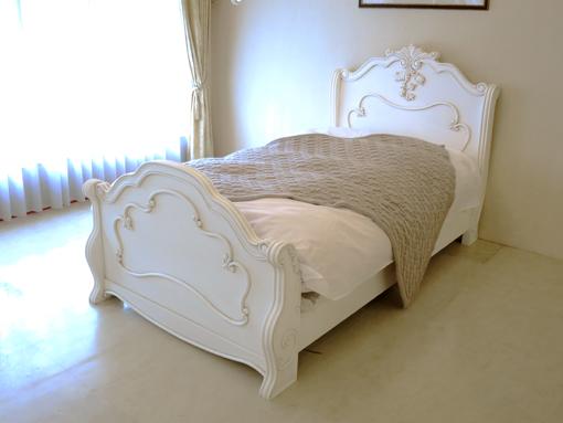 輸入家具■オーダー家具■プリンセス家具■ラ・シェル■シングルベッド■マダム・ココ色