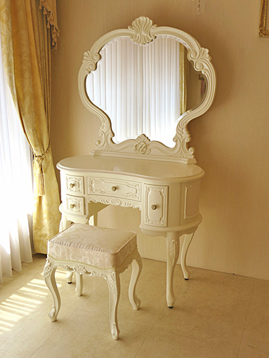 Imported Furniture Order Princess Dresser Wall To