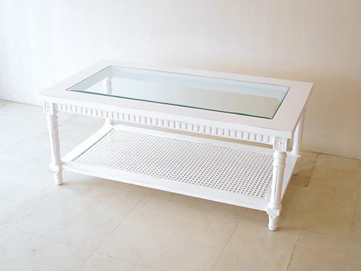 輸入家具 オーダー家具 プリンセス家具 フランク センターテーブル フレンチアンティーク色
