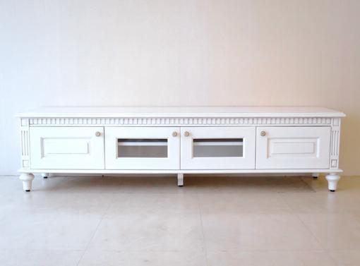 輸入家具 オーダー家具 プリンセス家具 マダム・ココ ローボード W180×D40×H45(cm)