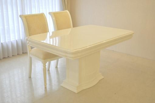 輸入家具■オーダー家具■プリンセス家具■アフロディーテ■ダイニングテーブル1本脚■彫刻装飾