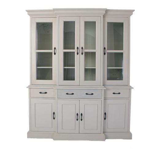 輸入家具 オーダー家具 シャビーシック ブランデコール キャビネット クレマン グレーブラッシュ色