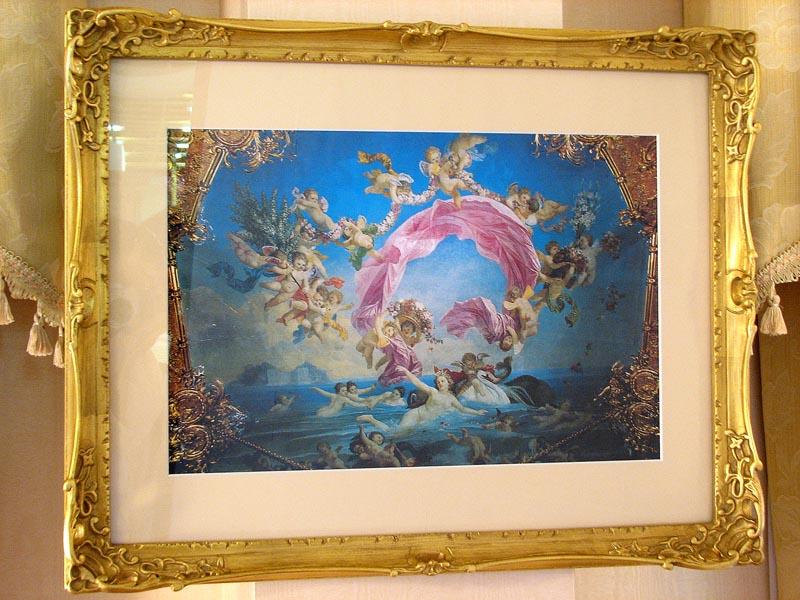 輸入雑貨 アートフレーム ヴィーナスと天使