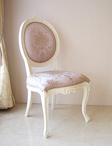 輸入家具■オーダー家具■プリンセス家具■オーバルチェア■猫脚■薔薇の彫刻