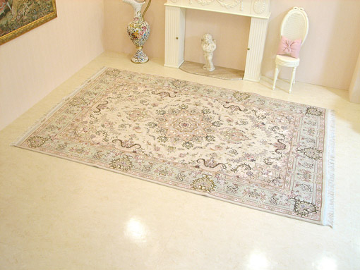 輸入家具■プリンセス達のペルシャ絨毯 1