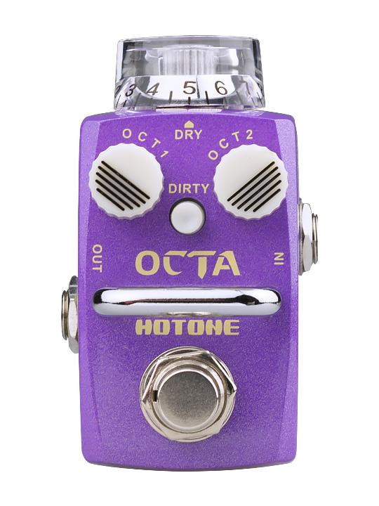 【取り寄せ品】HOTONE《ホットーン》skyline シリーズ OCTA エフェクター(オクタ/オクターバー)