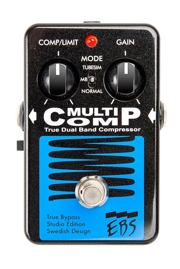 【送料無料】EBS MultiComp Studio Edition – True Dual Band Compressor イービーエス マルチコンプ